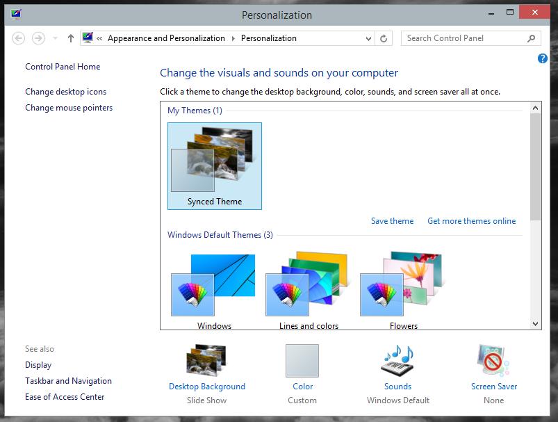 Windows10_Personslization